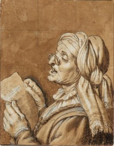 Want to sing happily into your wise years? All the more reason to practice your vocal function exercises! Old Woman Singing by Dutch painter Gerard van Honthorst (1590-1656).